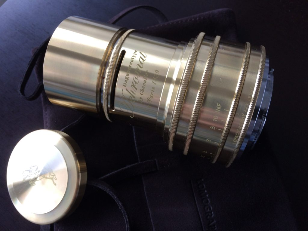 Daguerreotype Achromat 2.9/64 Art Lens